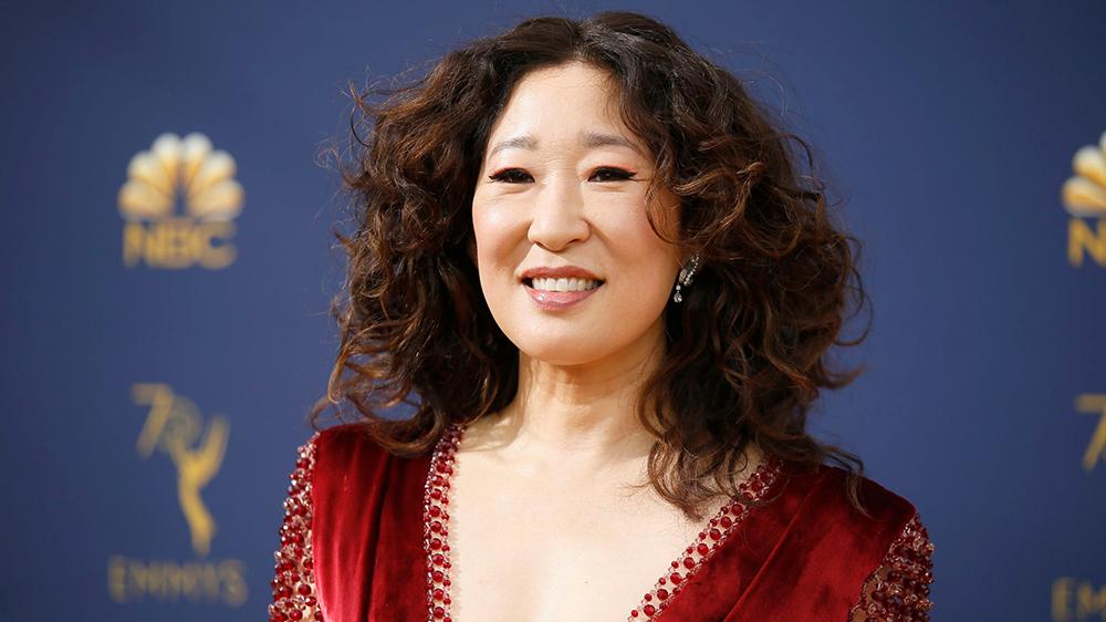 Sandra Oh at the Emmy Awards 2018. Sandra Oh portrayed the role of Dr. Cristina Yang on NBC's medical drama Grey's Anatomy