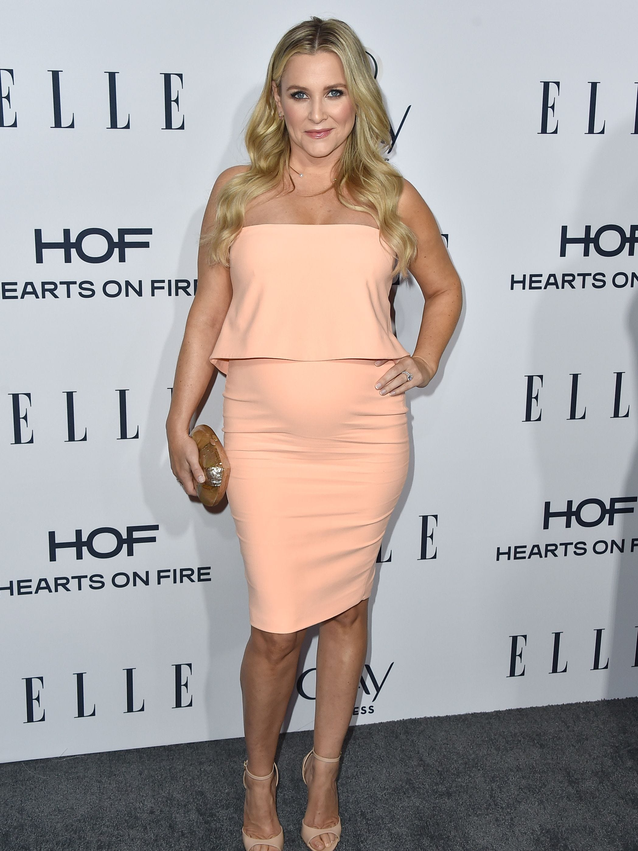 Actress Jessica Capshaw at ELLE's Women In Television Celebration presented by Hearts on Fire Diamonds. Jessica Capshaw portrayed the role of Dr. Arizona Robbins on Grey's Anatomy