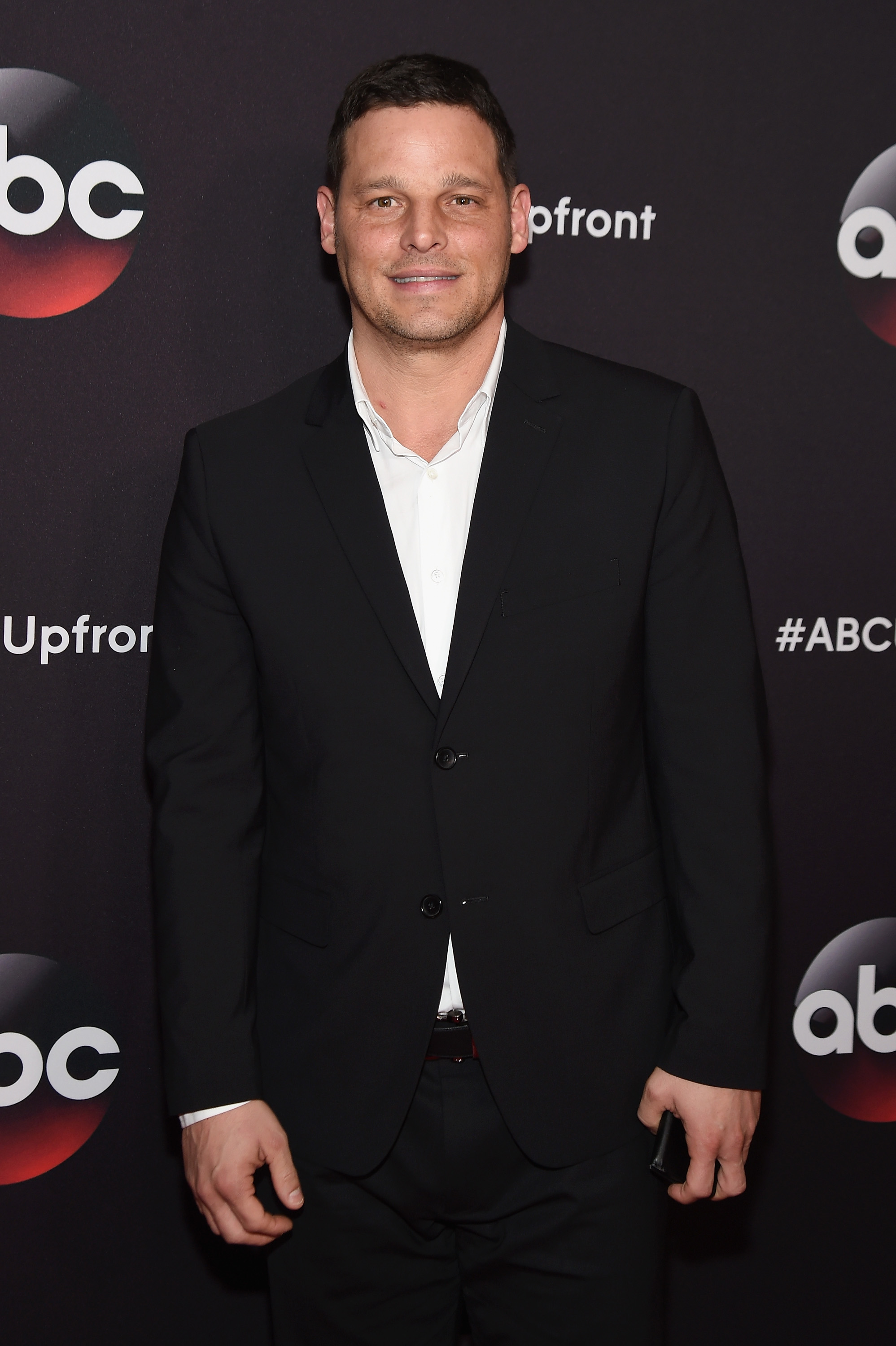 Actor Justin Chambers at NBC Upfront. Justin Chambers portrayed the role of Dr. Alex Karev in NBC's Grey's Anatomy