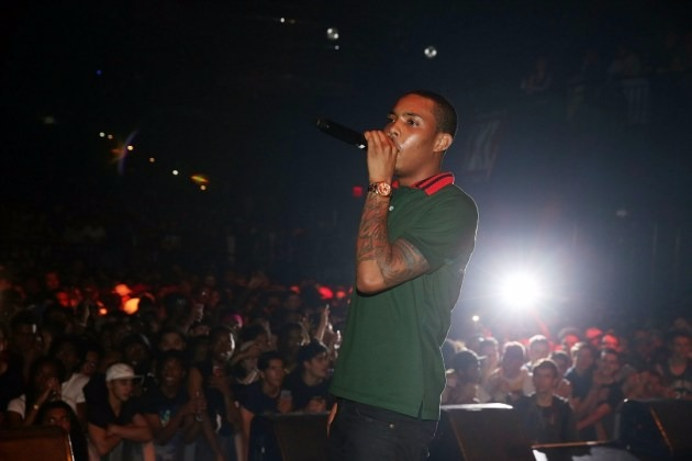 G Herbo performing at Best Buy Theater during XXL Freshman Tour in May 2016