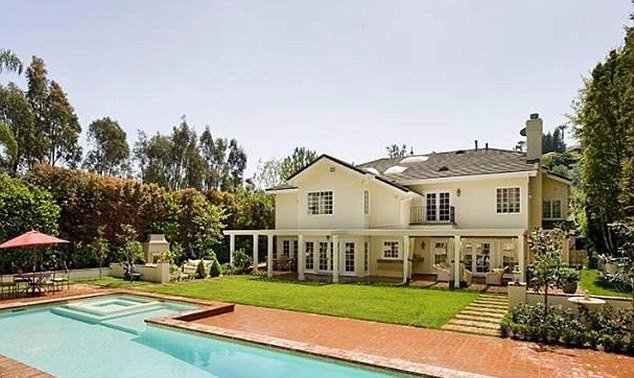 Hilary Duff's house in Summit community, Beverly Hills, CA