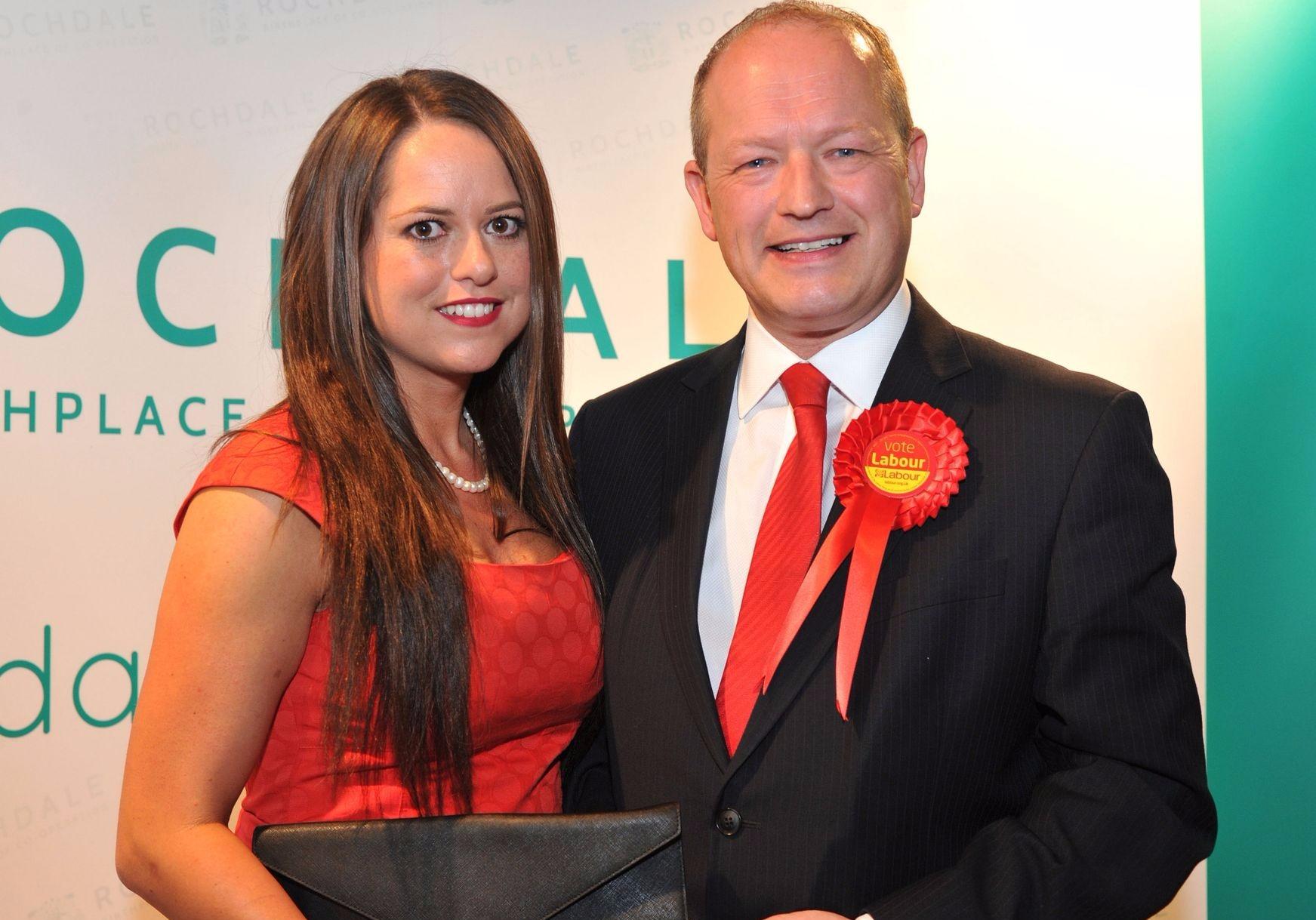 Karen Danczuk and husband MP Simon Danczuk attend an event