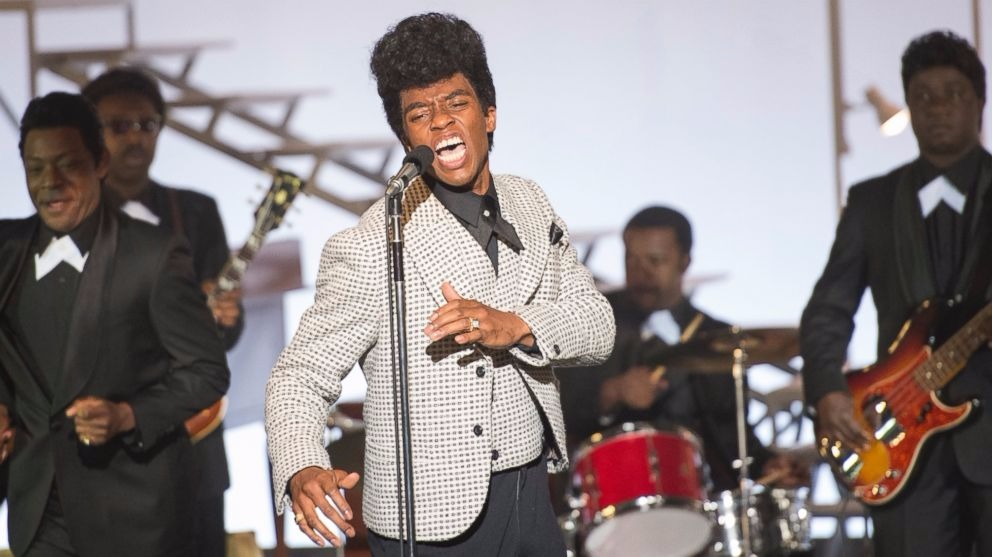 Chadwick Boseman's makeover as music legend James Brown in movie Get on Up