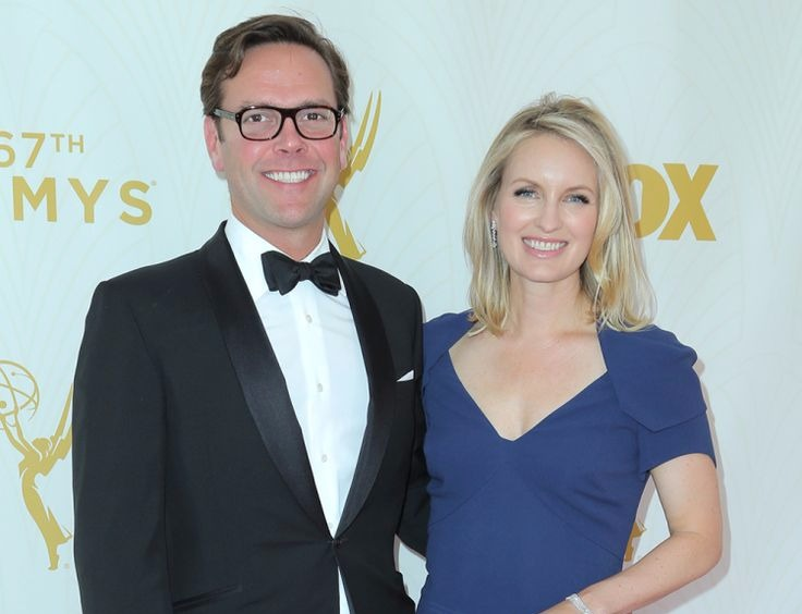 James Murdoch with wife Kathryn