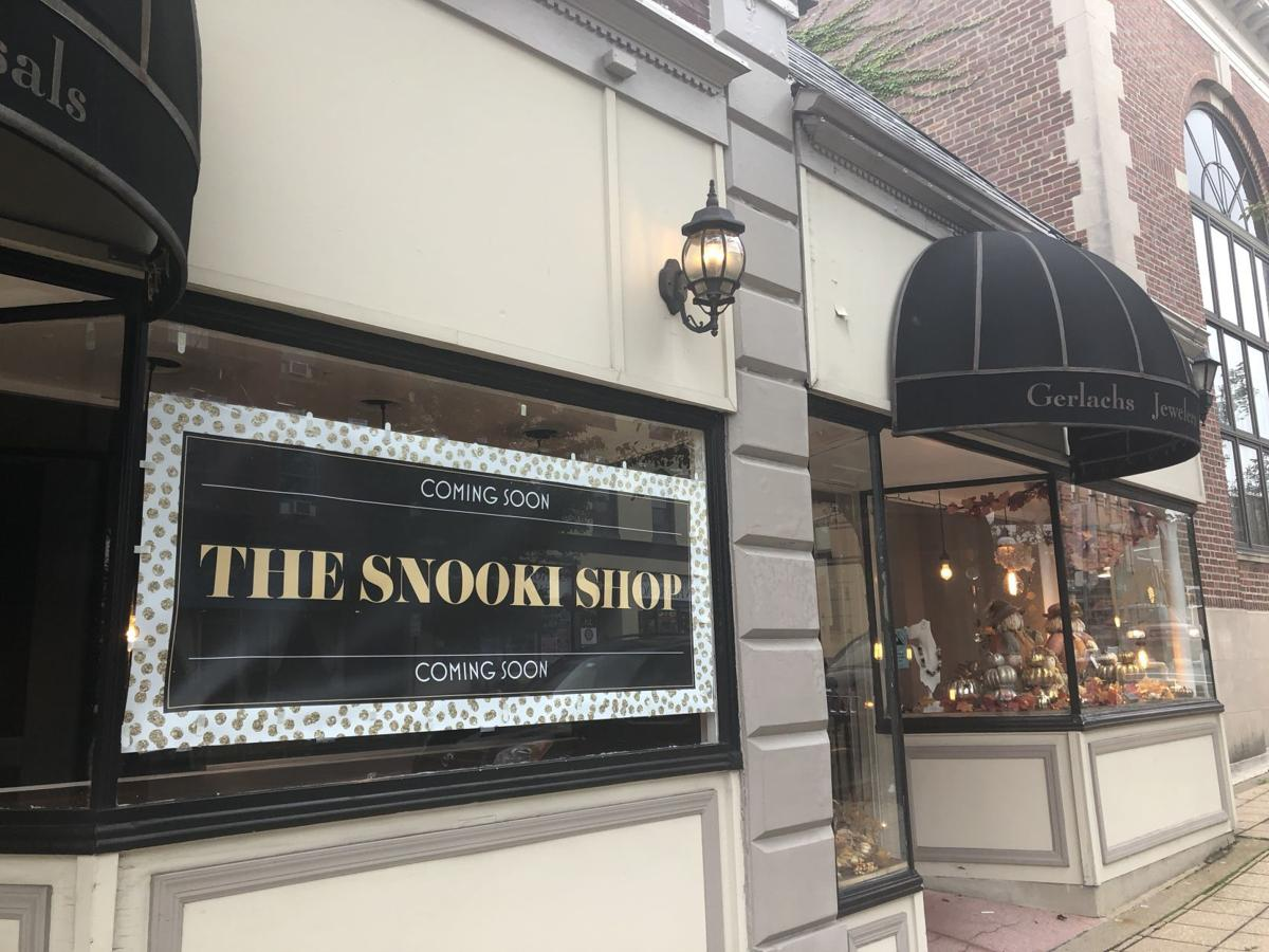 The Snooki Shop next to Gerlachs Jewelry shop