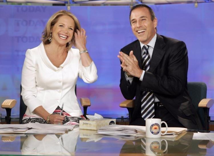 Katie Couric rejoined Matt Lauer on NBC News's 'Today' in January 2017 as a guest co-host for a week. They had co-hosted the show from 1997 to 2006.