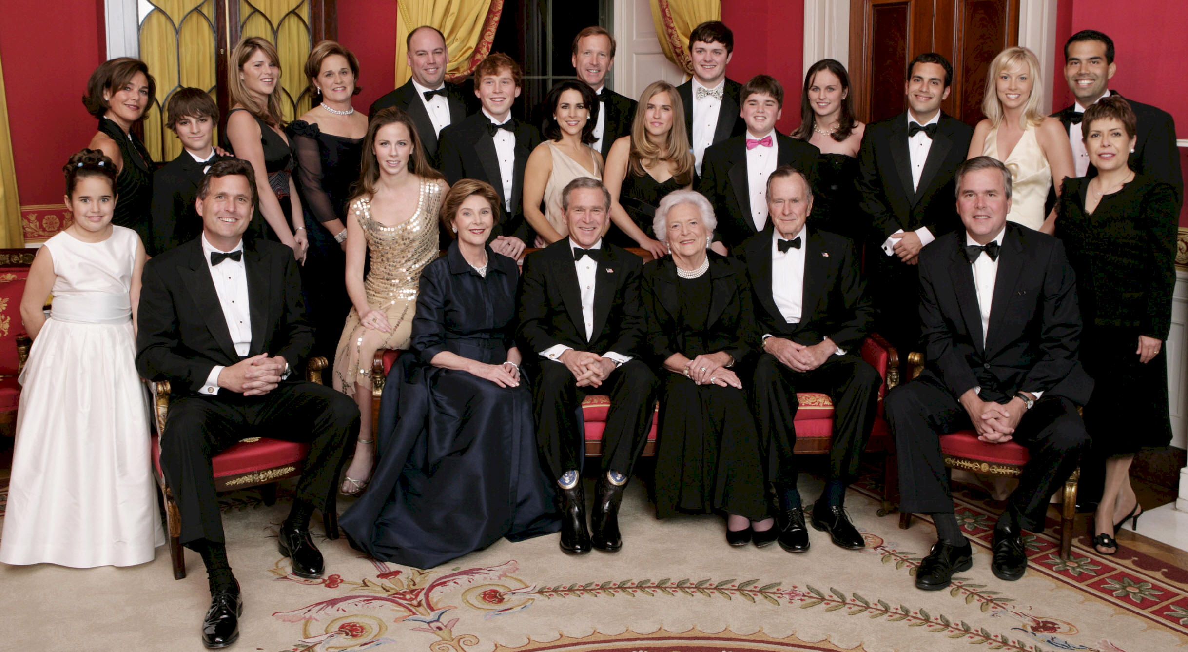 Bush Family picture