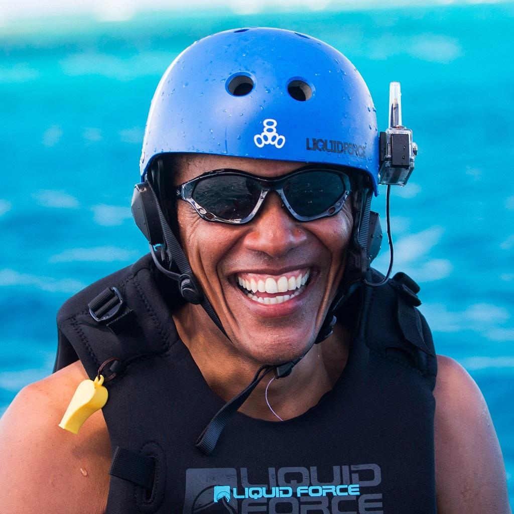 Barack Obama relishing his post-retirement life