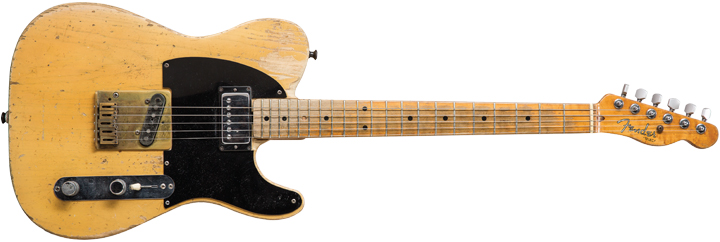 1953 Fender Telecaster aka the 'Micawber'