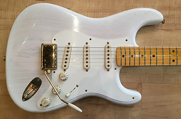 "1958 Fender Stratocaster aka the ""Mary Kaye"""