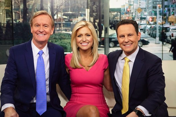 Ainsley Earhardt joined Fox News' Fox and Friend since earlier 2016.