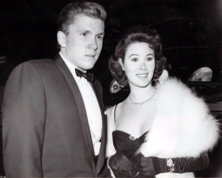 Jill St. Jones with her second husband Lance Reventlow