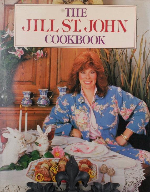 Jill St. John has released a cookbook 'The Jill St. John Cookbook'