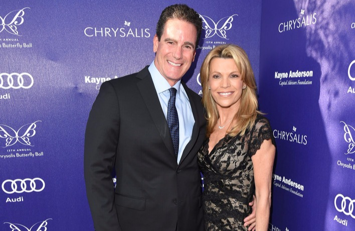 Vanna White with her boyfriend John Donaldson at 13th Annual Chrysalis Butterfly Ball in 2014 in Los Angeles