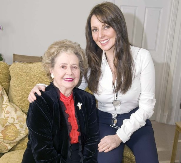 Carol Vorderman's happier times with mother, Edwina Jean Davies.