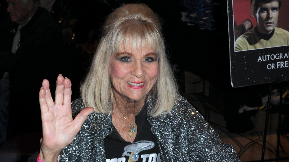Grace Lee Whitney at her old age