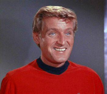 Smiling face of John Winston