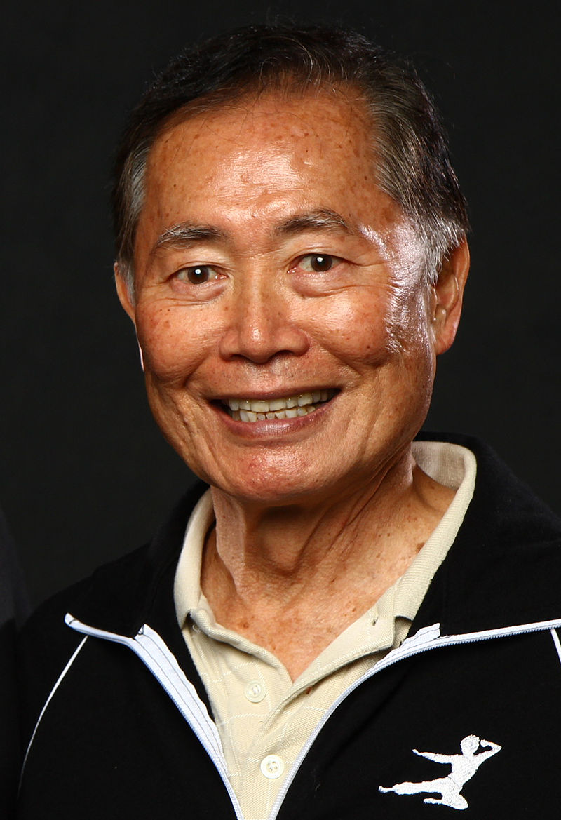 George Takei in his old age
