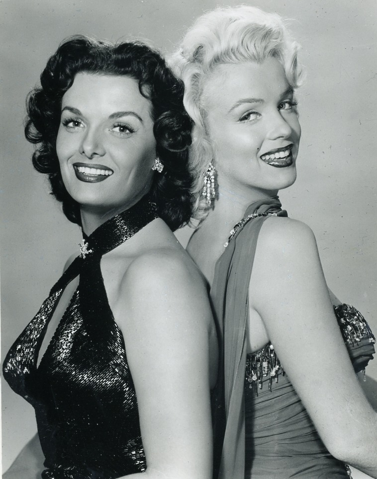 Jane Russell (right) and Marilyn Monroe (left) in Gentlemen Prefers Blondes