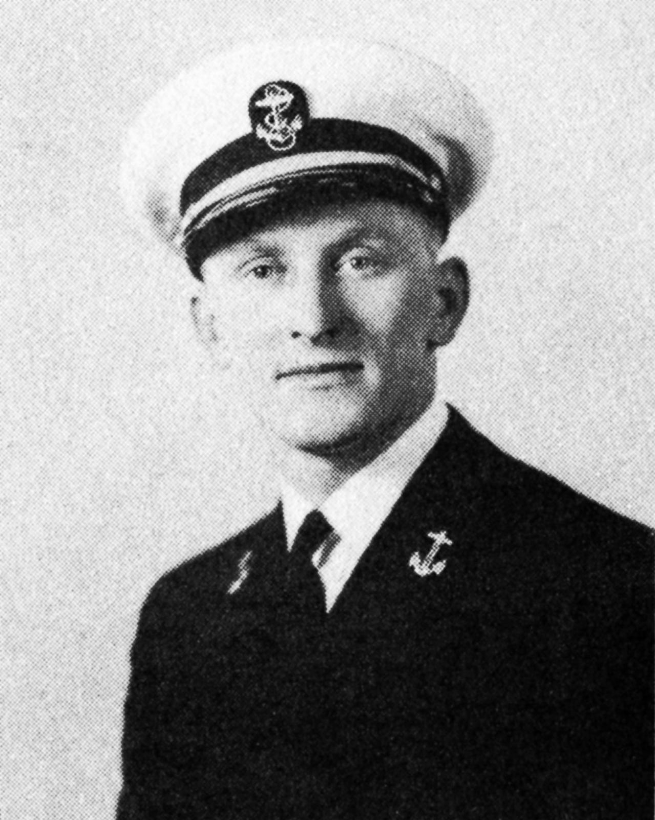 Young Kirk Douglas in his military uniform