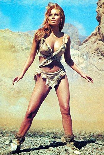 Raquel Welch is seen wearing a bikini made of deer skin