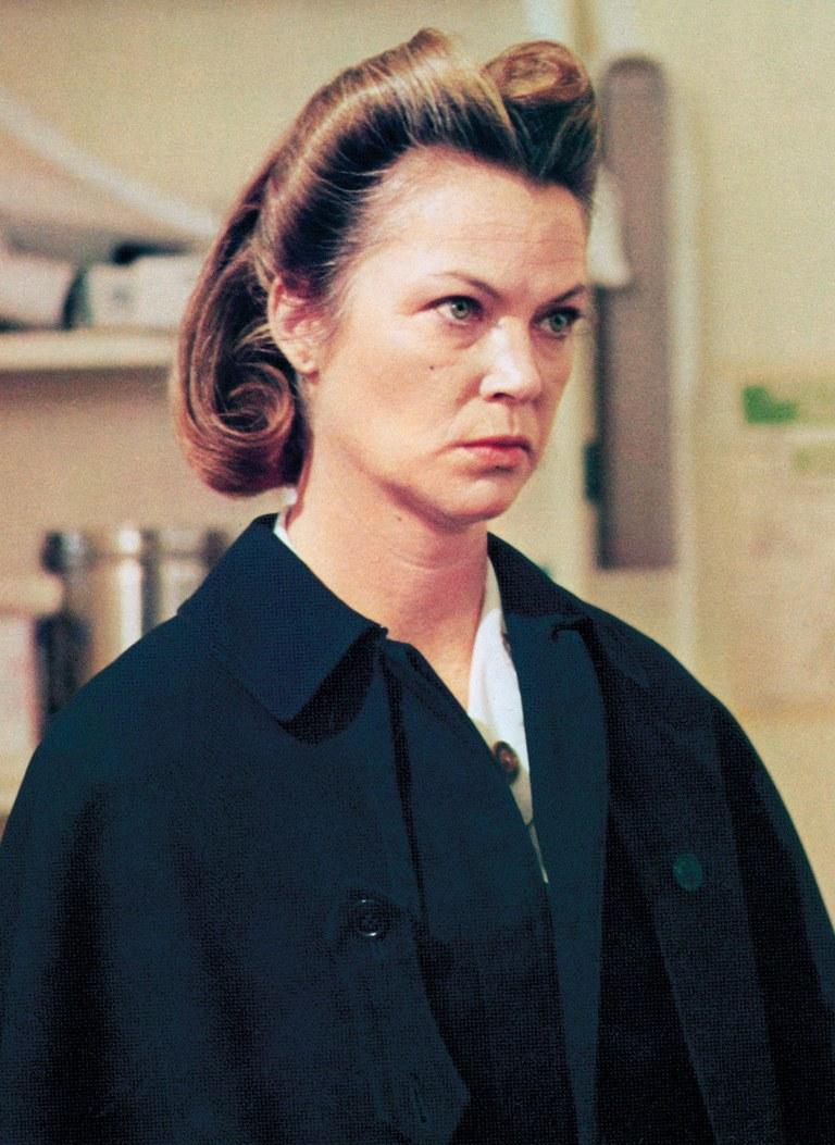 Louise Fletcher as a Nurse Ratched