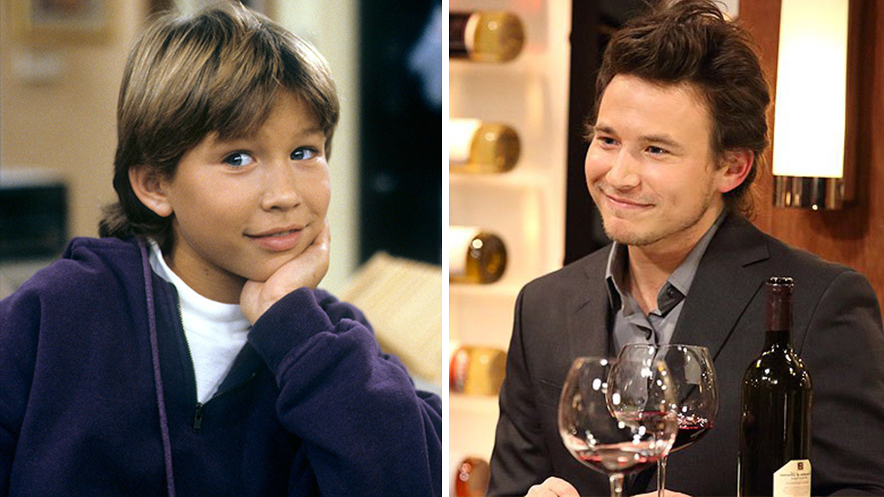 Young image of Jonathan Taylor Thomas and his image of now