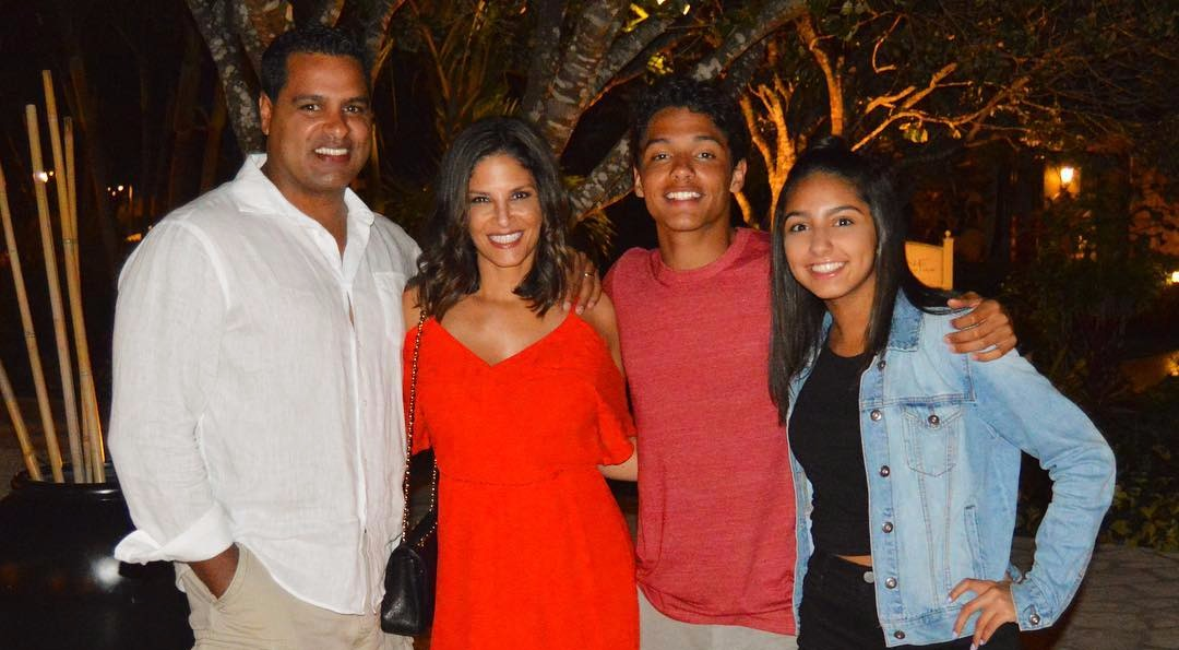 Darlene Rodriguez family pic, from left - David Rodriguez, Darlene Rodriguez, David Rodriguez, Natalie Rodriguez