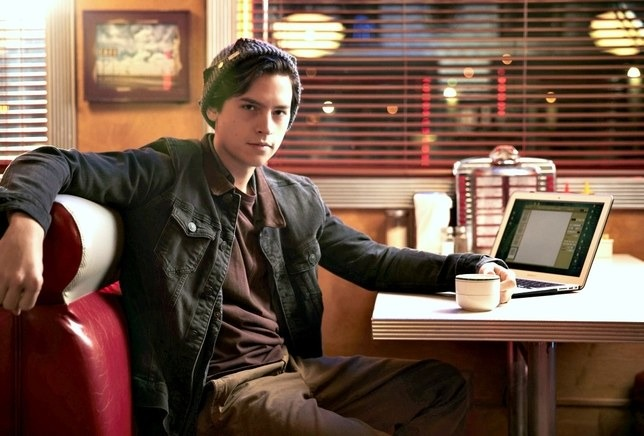 Cole Sprouse as Jughead Jones in CW drama Riverdale