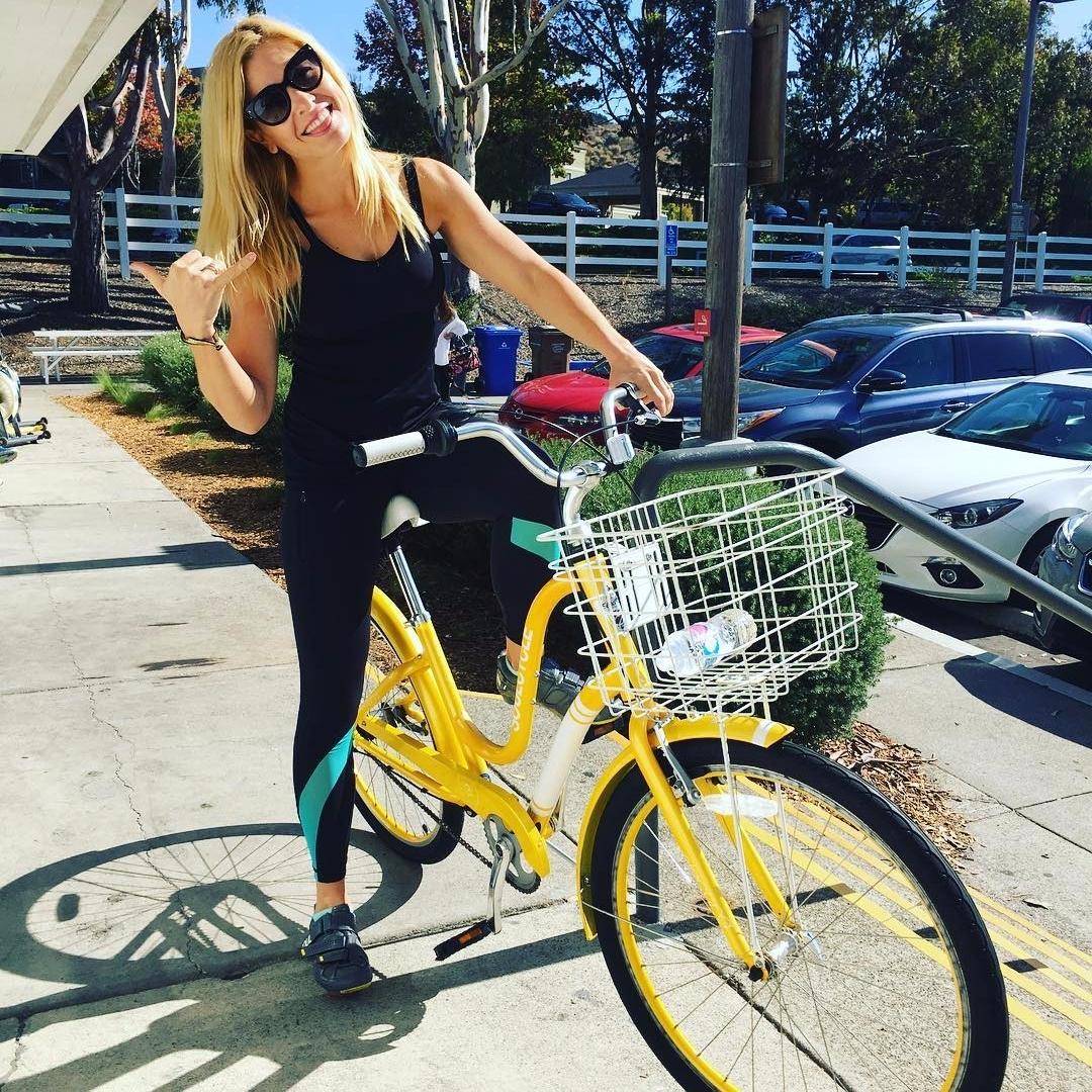 Anna Kooiman on a soul cycle