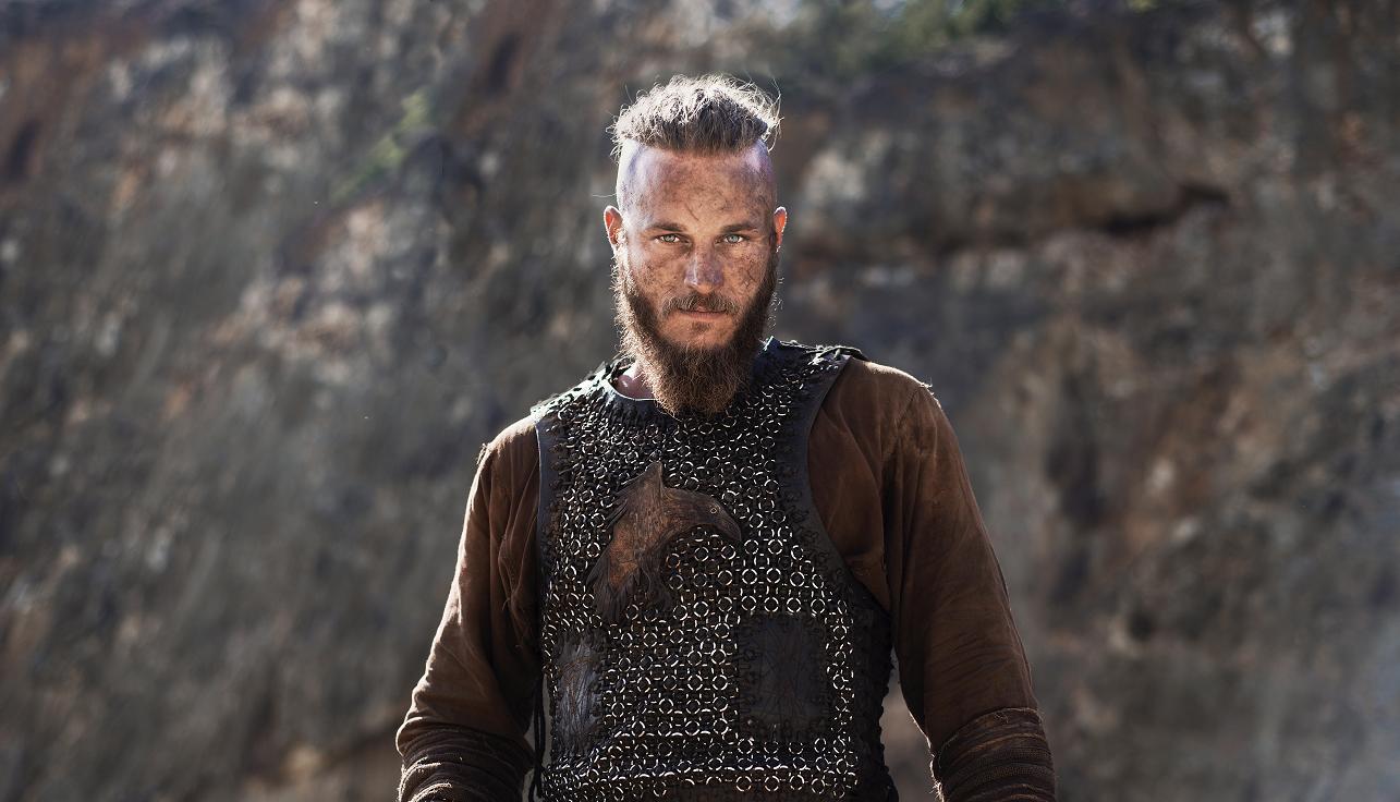 Travis Fimmel as Ragnar Lothbrok in Vikings TV series.