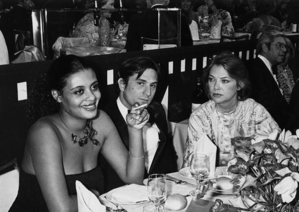 Diahnne Abbott with Robert De Niro