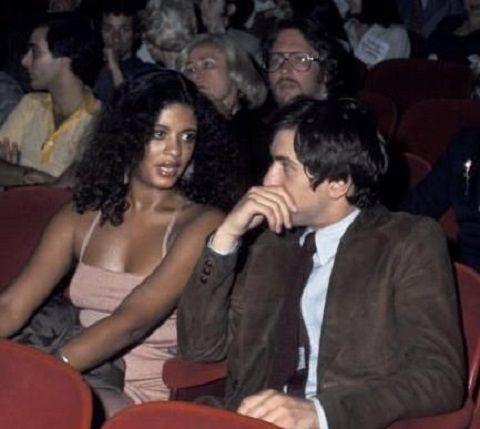 Diahnne Abbott with her then husband, Robert De Niro