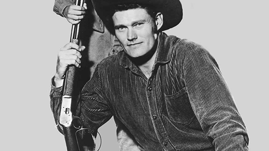 Chuck Connors has a rifle in his hand