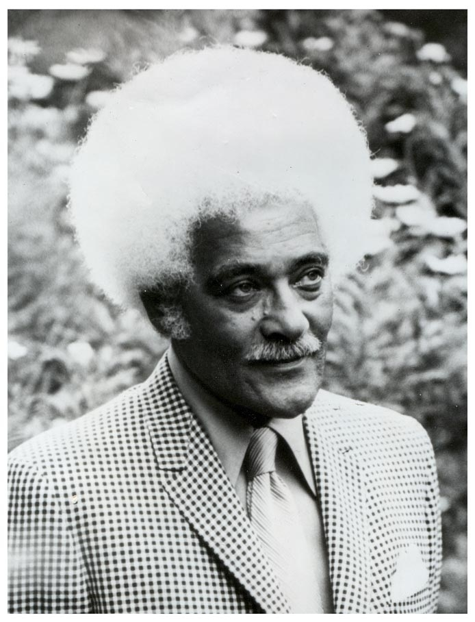Black and White photo of Foster Johnson