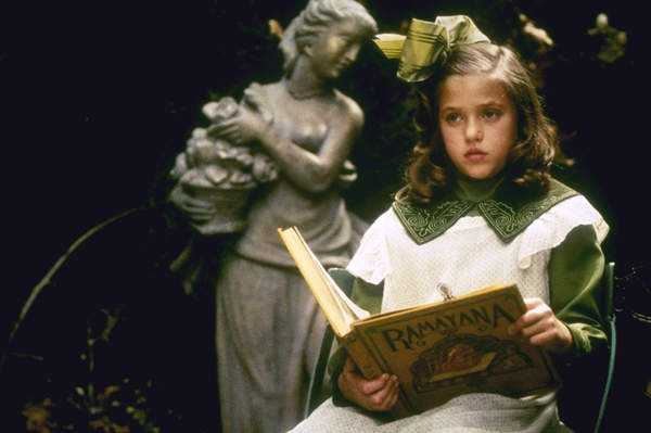 Liesel Pritzker in the set of A little Princess (1995) as Sara Crew. Liesel Pritzker starred in 1995 movie, A Little Princess & 1997 movie Air Force One alongside Harrison Ford and Gary Oldman.