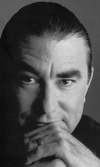Black and White image of Richard Hissong