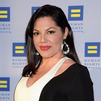 Sara Ramirez at the Human Rights Campaign Gala in LA