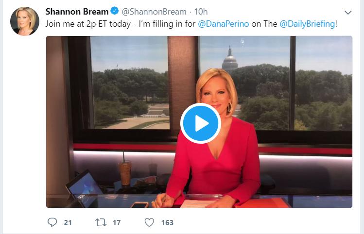 Shannon Bream's tweet