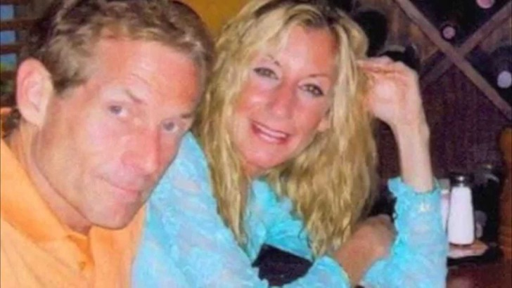Ernestine Sclafani with her sports communist husband, Skip Bayless