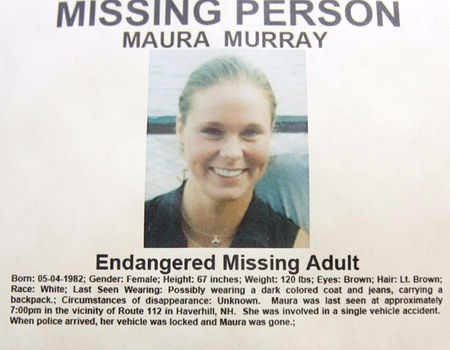 Maura Murray missing persons poster