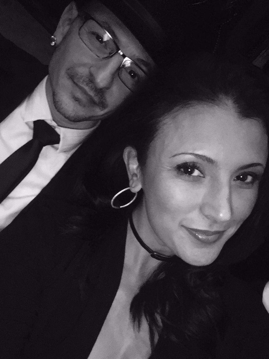 Talinda and Chester Bennington selfie at the Grammys