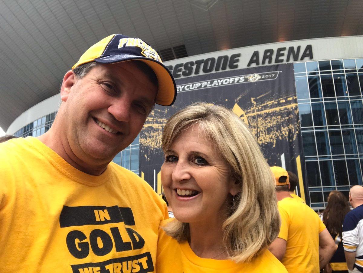 Steve Hayslip selfie with his wife Kathy