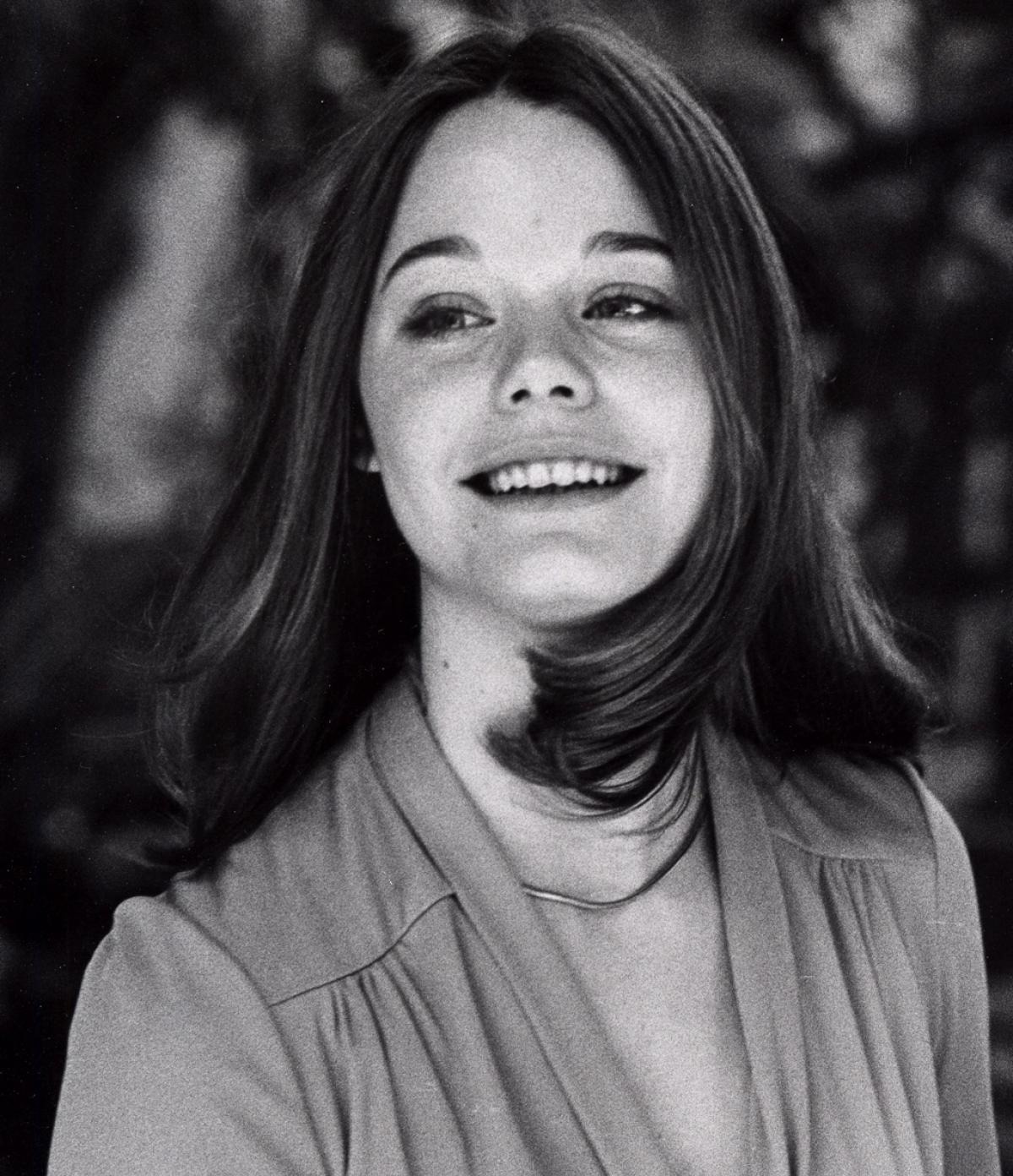 Susan Dey at her young age. She looks beautiful with short hair.