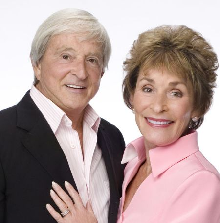 Jerry Sheindlin with his wife