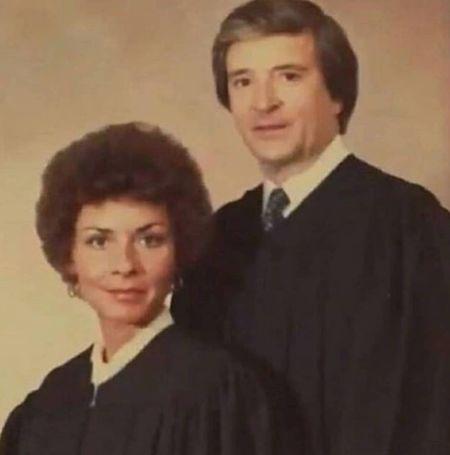 Jerry Sheindlin with his wife Judy Sheindlin