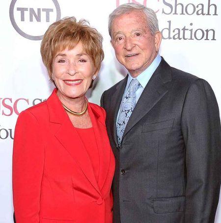 Judge Judy was with Husband Jerry Sheindlin