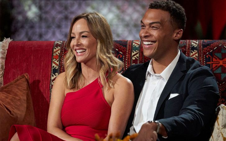 'The Bachelorette' Dale Moss and Clare Crawley are in 'Good Place'