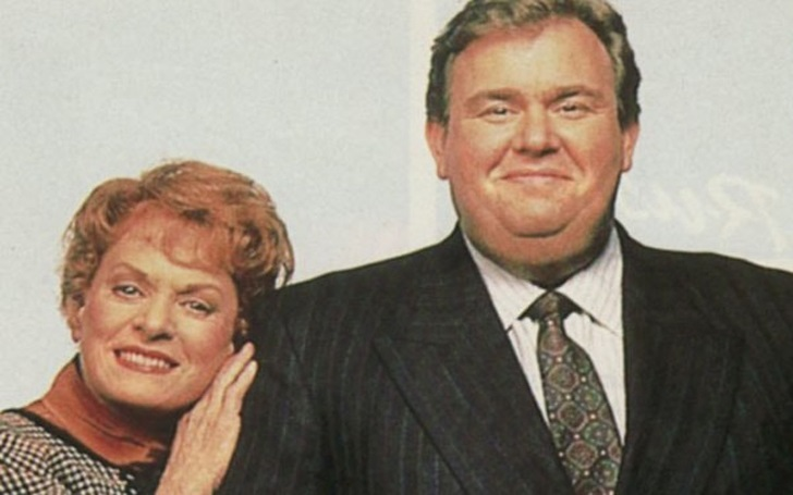 Rosemary Margaret Hobor with her late husband John Candy