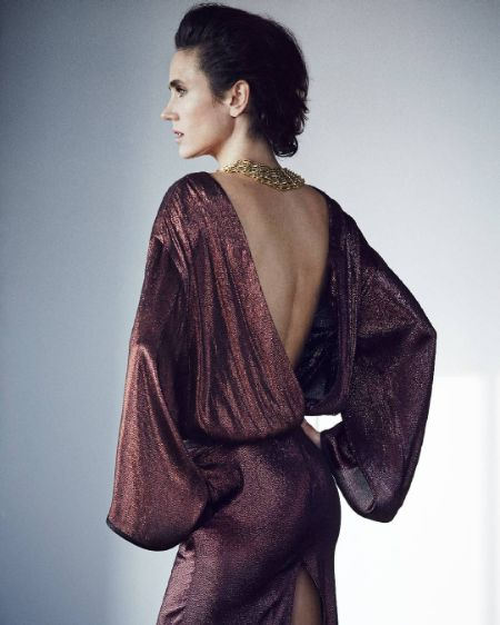 Jennifer Connelly in an open back dress